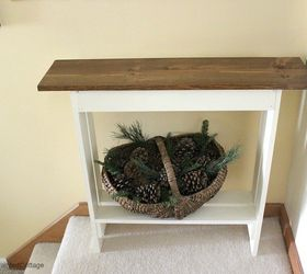 Marvelous Diy Entry Console Table, Diy, Foyer, How To, Rustic Furniture, Woodworking