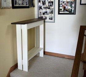 Attractive Diy Entry Console Table, Diy, Foyer, How To, Rustic Furniture, Woodworking