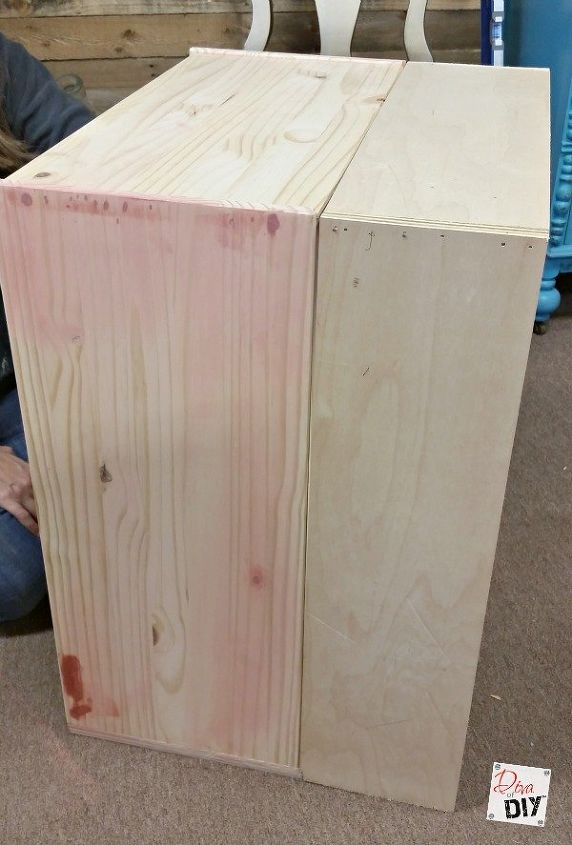 build this easy furniture vanity in a day, how to, painted furniture, woodworking projects
