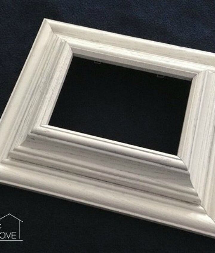 s 23 awesome things you didn t know you could do with old picture frames, crafts, repurposing upcycling, Stack two to make a designer chunky frame