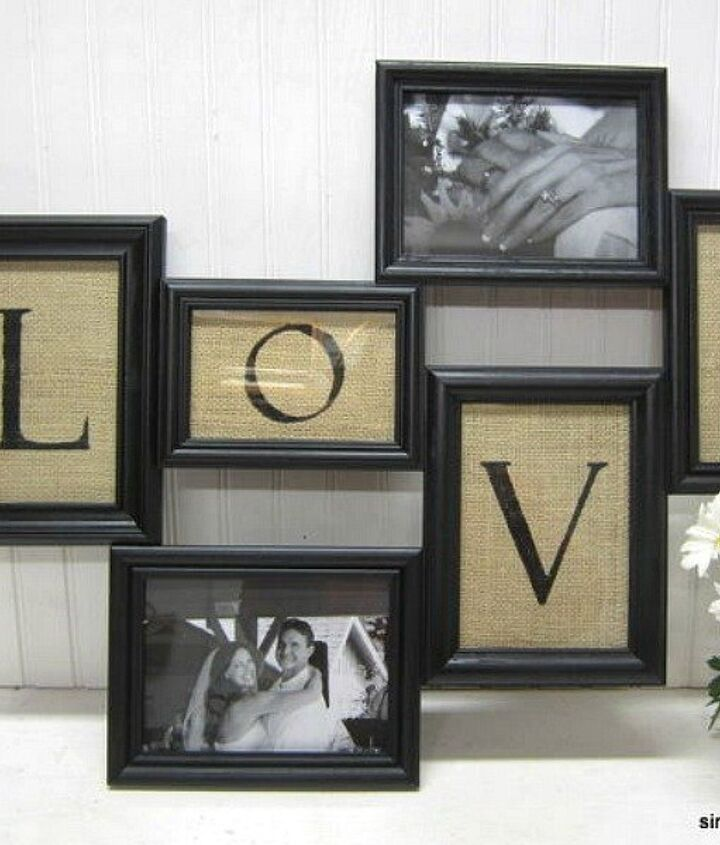 s 23 awesome things you didn t know you could do with old picture frames, crafts, repurposing upcycling, Arrange a few into an intricate collage