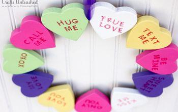 sweetest valentine s day wreath ever, crafts, seasonal holiday decor, valentines day ideas, wreaths