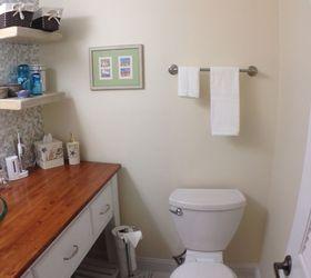 Small Half Barh Remodel, Bathroom Ideas, Home Maintenance Repairs, Tiling