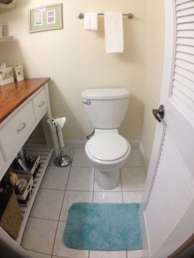 Small Half Bath Remodel Hometalk