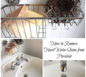 Exceptionnel How To Remove Hard Water Stains From A Porcelain Sink, Bathroom Ideas,  Cleaning Tips