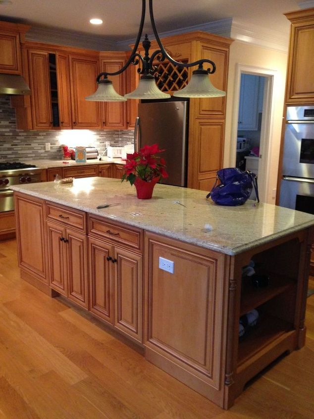 BEFORE: ALL WOOD OMEGA CABINETRY