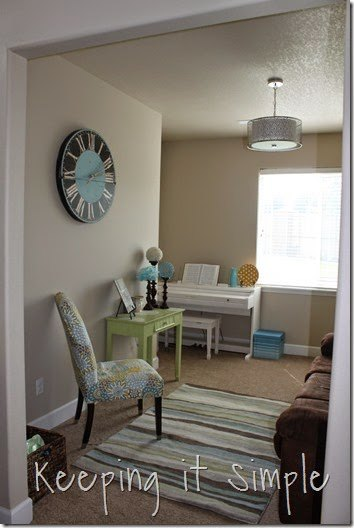 craft room reveal with decor ideas and craft supplies storage ideas, craft rooms, crafts, organizing, storage ideas