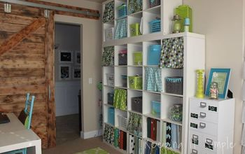 Craft Room Reveal With Decor Ideas and Craft Supplies Storage Ideas