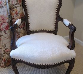 Charmant Transforming A Vintage French Chair, Painted Furniture, Reupholster