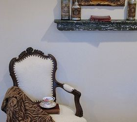 a vintage french chair painted furniture reupholster