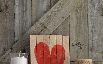 Easy Valentine Decor