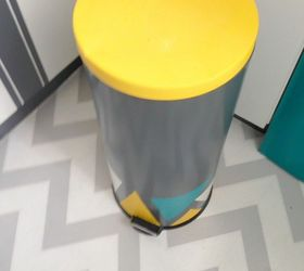 Trash Can Makeover, Painted Furniture
