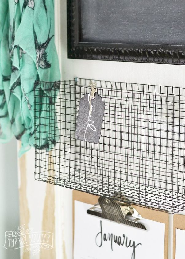 DIY Wire Mesh Baskets for Those Awkward Spaces | Hometalk