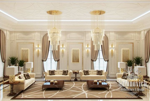 Read This Arabic Majlis Interior Design From Luxury Antonovich Stunning Arabic Majlis Interior Design Decor