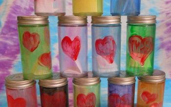 Upcycled Date Night Jars for Valentines
