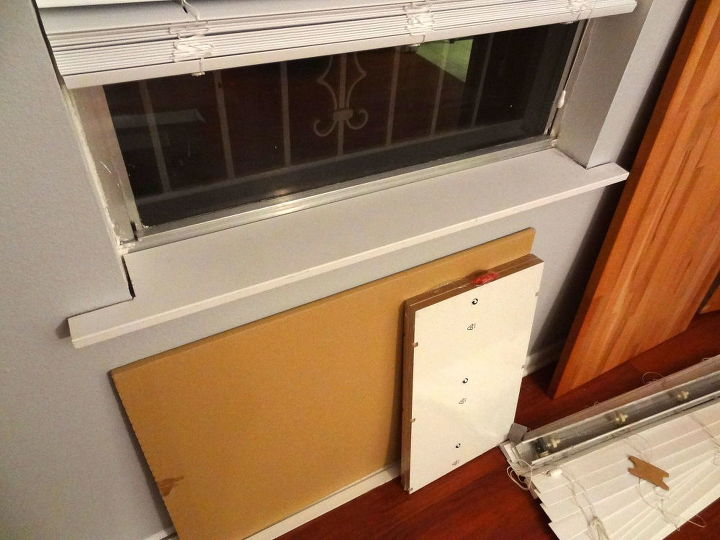 upgrading windows with casing, diy, window treatments, windows