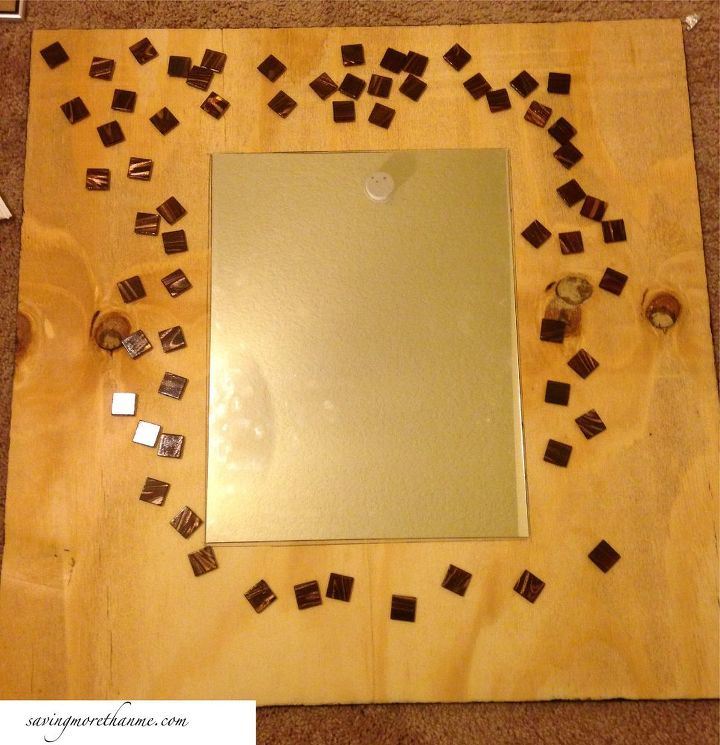 A DIY Mosaic Mirror That Only Looks Expensive   Hometalk
