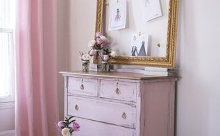 girly pink dresser, bedroom ideas, diy, home decor, how to, painted furniture