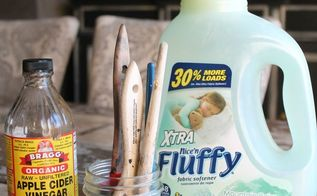 the secret to getting dried paint out of your paintbrushes, cleaning tips, crafts, painted furniture, painting