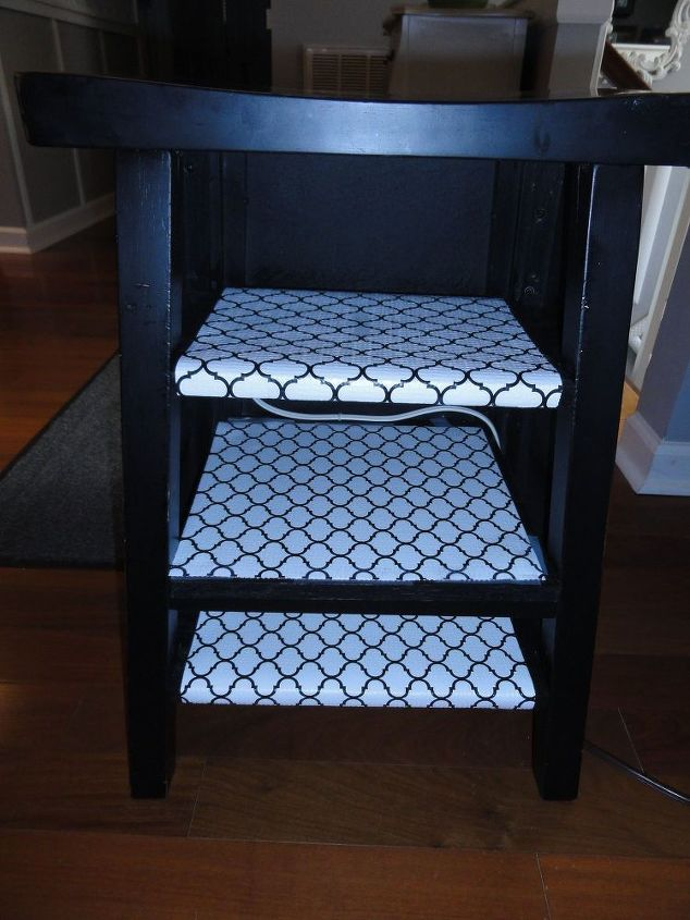 a little solution for a big problem, organizing, painted furniture