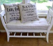 make a french mattress cushion a diy catalog knockoff, crafts, reupholster