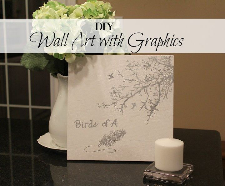 how to create wall art using graphics, crafts, how to, wall decor