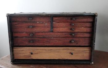 Turn an Antique Dentist Cabinet Into a Jewelry Box
