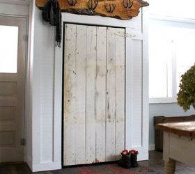 covering up our incredible eye sore barn door closet closet diy doors