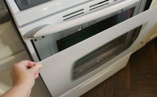 how to clean between the glass door on a maytag oven, appliances, cleaning tips