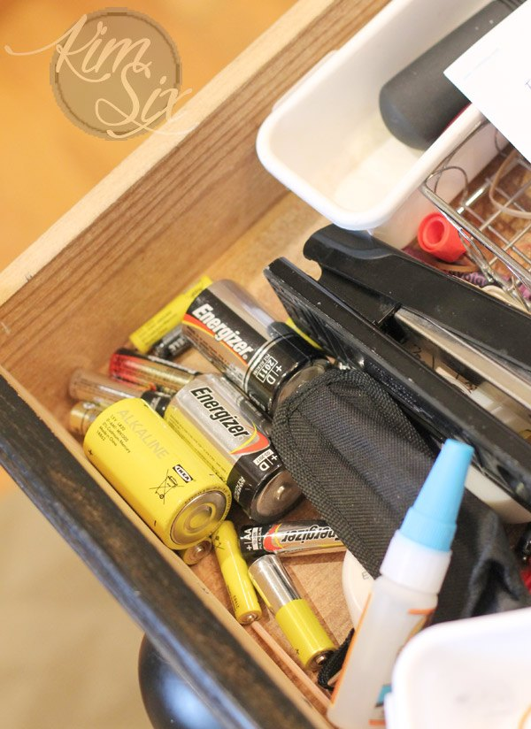 get a handle on all those stray batteries, cleaning tips, organizing, woodworking projects