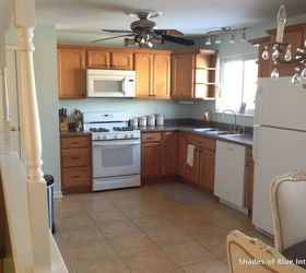 Kitchen Makeover On Budget, Countertops, Kitchen Cabinets, Kitchen Design,  Painting, Rustic