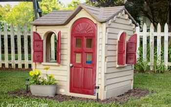 Quick and Easy Playhouse Makeover