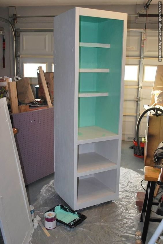 mobile pantry cabinet diylikeaboss, closet, diy, kitchen cabinets, organizing, painted furniture, storage ideas, woodworking projects