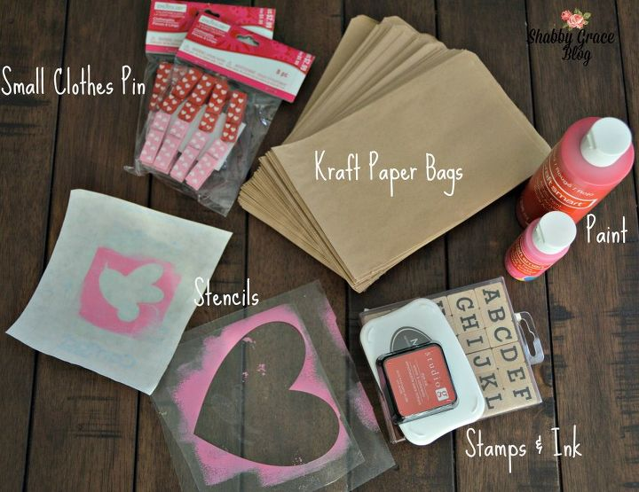 diy valentine s day treat bag, crafts, seasonal holiday decor, valentines day ideas