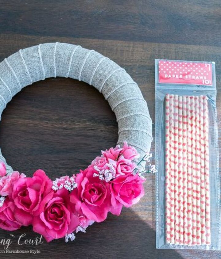 what can you do for valentine s day with 7 of dollar store supplies, crafts, seasonal holiday decor, valentines day ideas, wreaths