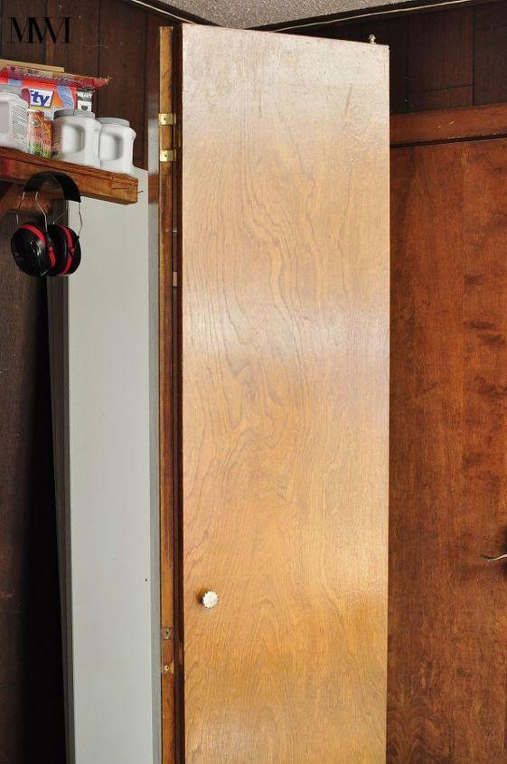 Update Dark Wood 1970s Bi Fold Closet Doors Hometalk