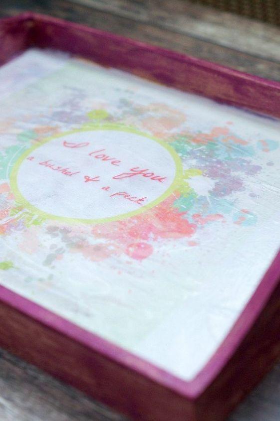 diy tray for a little girl s room createandsharechallenge, bedroom ideas, crafts