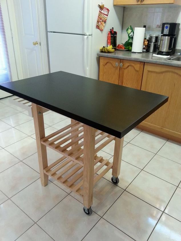 IKEA Hack: Make a Portable Kitchen Island | Hometalk