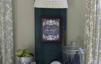 Shut the Front Door!  You Can Turn a Door Into a Lamp?