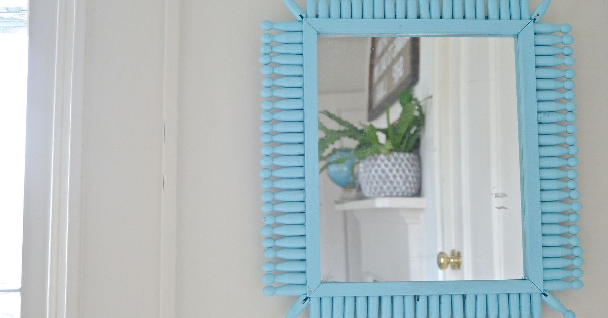 Dollar Store Sunburst Mirror Hometalk