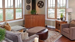 q painting vinul windows, interior home painting, painting, window treatments, windows