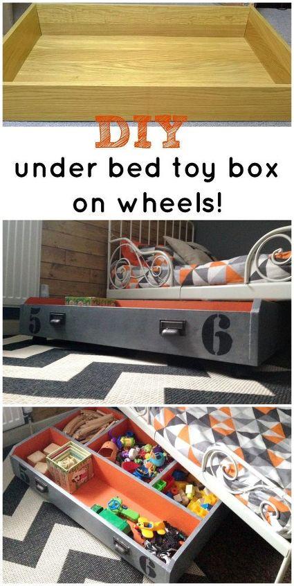 ikea drawer to under bed toy box hometalk. Black Bedroom Furniture Sets. Home Design Ideas
