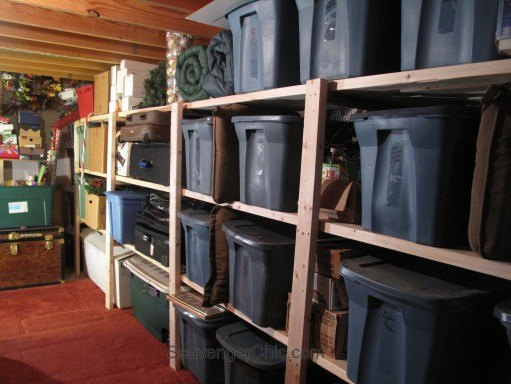 Easy Basement Or Garage Shelving Hometalk