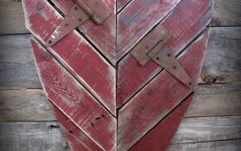 Easy Pallet Wood Valentine's Heart