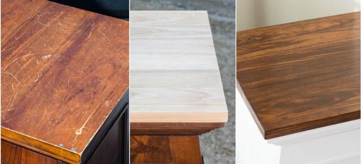 refinished flea market cabinet, painted furniture