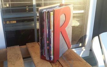 Magazine Storage #30dayflip  January Organization Challenge