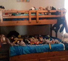 Zoo Stuffed Animal Storage Side Table Organization 30dayflip, Diy,  Organizing, Painted Furniture,