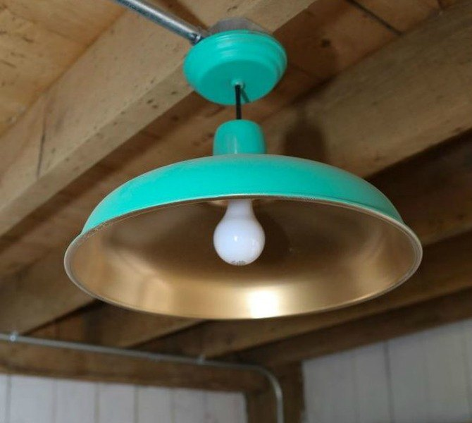 s 15 expensive looking lighting ideas that might surprise you, lighting, repurposing upcycling, Give a fun funky makeover to an old lamp