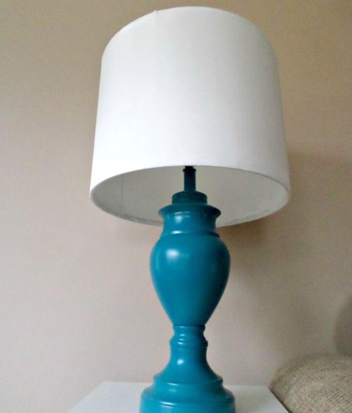 Diy Lamp Shade Base Makeover Hometalk