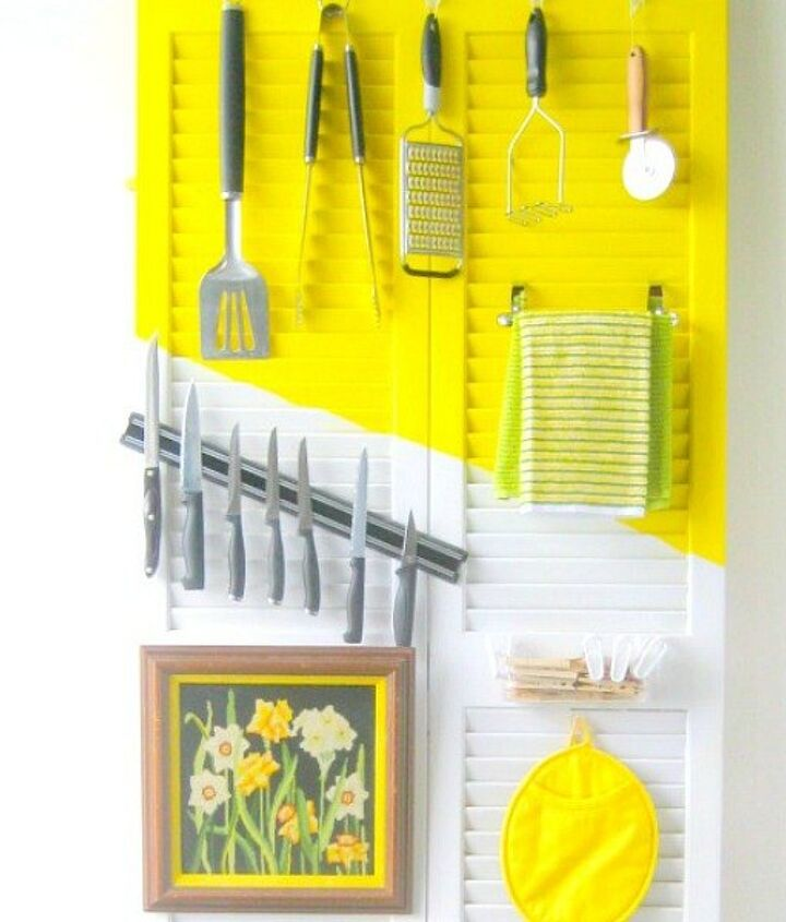 s 17 little known ways to use your wasted wall space, organizing, storage ideas, wall decor, Fill an empty kitchen wall with an organizer
